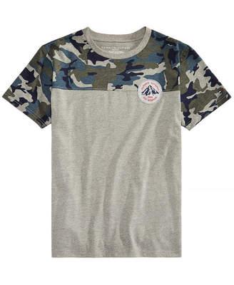 Tommy Hilfiger Toddler Boys Camo-Print T-Shirt