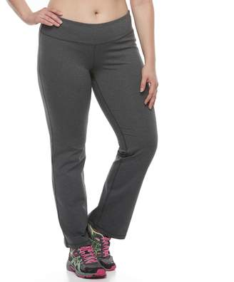 Tek Gear Plus Size Bootcut Shapewear Pants
