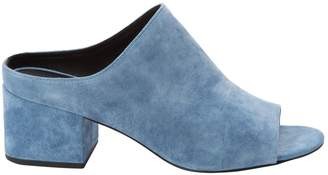 3.1 Phillip Lim Blue Suede Mules & Clogs