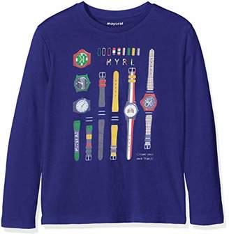 Mayoral Boy's 4014-54-8 Long Sleeve T-Shirt,(Size: 8)