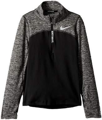 Nike Dry Element Long Sleeve 1/2 Zip Top Girl's Clothing