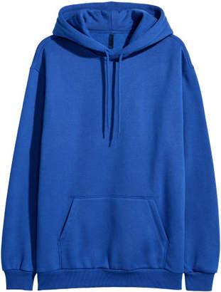 H&M Hooded Sweatshirt - Blue