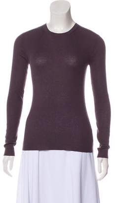 Michael Kors Rib Knit Cashmere Top