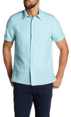 Perry Ellis Solid Linen Blend Shirt