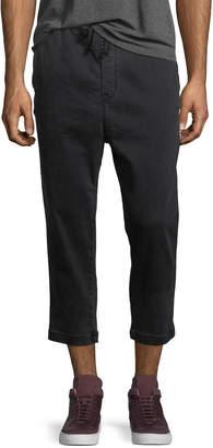 Hudson Men's Leo Drop-Crotch Drawstring Pants