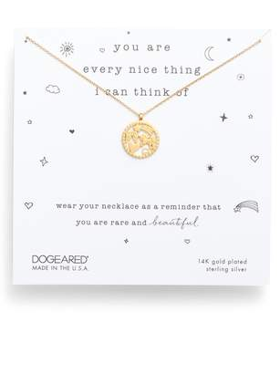 Dogeared You Are Every Nice Thing Magic Pendant Necklace
