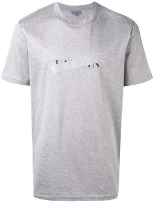 Lanvin censored logo T-shirt