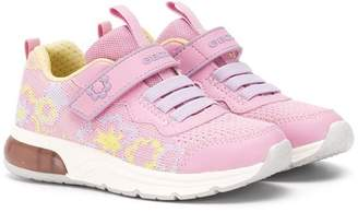 Geox Kids knitted sneakers
