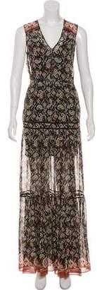 Veronica Beard Silk Printed Dress w/ Tags