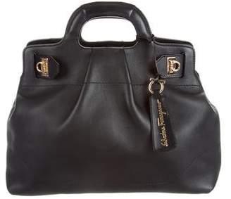 Salvatore Ferragamo Soft Leather Satchel