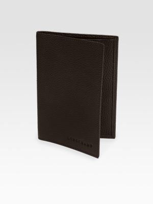 Longchamp VF Passport Holder