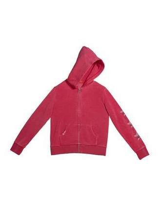 Butter Shoes Girl's Choose Kind Zip-Up Hoodie Jacket. Size S-XL
