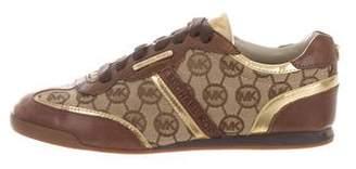 Michael Kors Logo Low-Top Sneakers