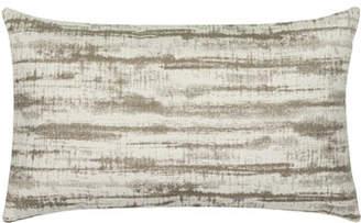 Elaine Smith Linear Lumbar Sunbrella Pillow, Taupe