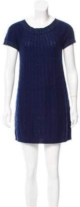 Bill Blass Cashmere Cable Knit Dress