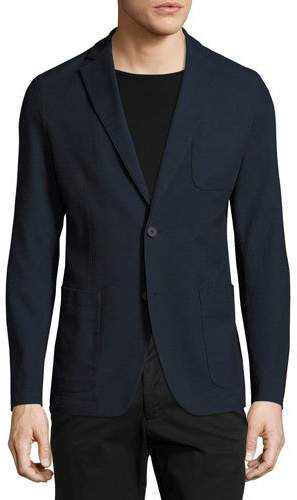 Hugo BossHugo Boss Stretch Cotton Sport Coat, Navy