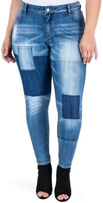Standards & Practices Isabel Colorblock Skinny Jeans