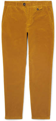 Oliver Spencer Fishtail Stretch-Cotton Corduroy Trousers