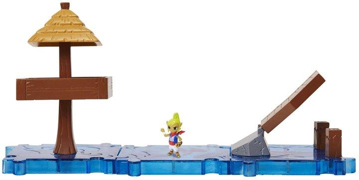 Nintendo Mario Bros U Micro Land 3 pack-Tetra Water Ocean theme Action Figure