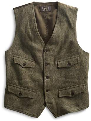 Ralph Lauren Herringbone Tweed Vest
