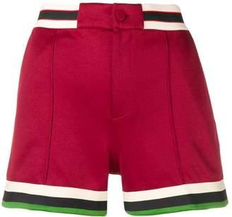 Gucci striped trim shorts