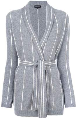 Cashmere In Love cashmere Charlotte striped cardigan