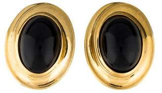 Givenchy Oval Clip-On Earrings