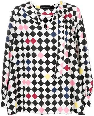 Sportmax Code Ora checked blouse