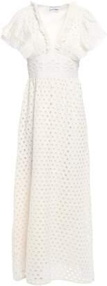 Antik Batik Jada Ruffle-trimmed Broderie Anglaise Cotton Maxi Dress