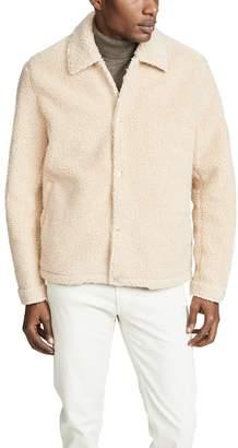Vince Sherpa Coaches Jacket