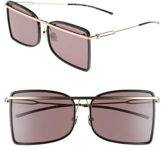 Calvin Klein 60mm Butterfly Sunglasses