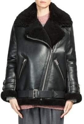 Acne Studios Velocite Fur Jacket