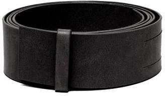 Ann Demeulemeester Leather Belt - Womens - Black