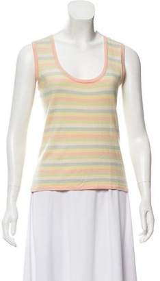 Akris Sleeveless Striped Top