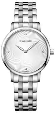 Wenger Women's Classic Swiss-Quartz Watch with Stainless-Steel Strap