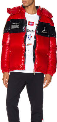 Moncler Gary Jacket in Red | FWRD