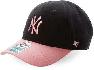 '47 Newborn/Infant Girls) Navy & Pink New York Yankees Baseball Cap