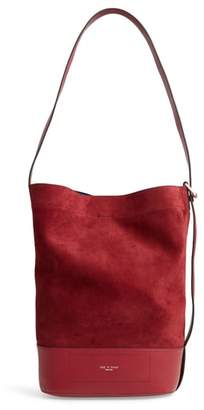 Rag & Bone Walker Sling Suede Bucket Bag