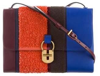 Tory Burch 2016 Multi-Stripe Convertible Shoulder Bag