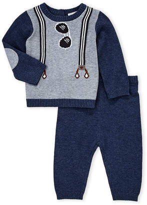 Baby Essentials Miniclasix (Newborn Boys) Two-Piece Suspenders Top & Pants Set