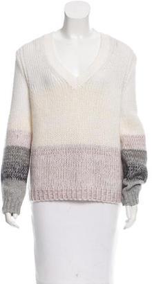 Brochu Walker Wool & Mohair-Blend Patterned Sweater w/ Tags $145 thestylecure.com