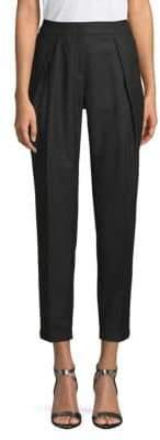 Akris Cropped Wool Pants