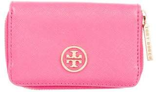 Tory Burch Leather Logo Wallet