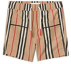 Burberry Baby's& Little Boy's Conroy Icon Pajama Shorts