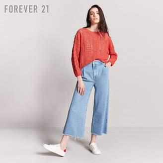 Forever 21 (フォーエバー 21) - Forever 21 オーバーサイズフィッシャーマンセーター