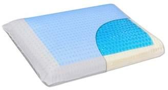 Euro Sleep Queen Sized Cool Gel Memory Foam Ventilated Pillow