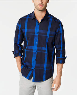 Calvin Klein Alfani Men's Plaid Shirt
