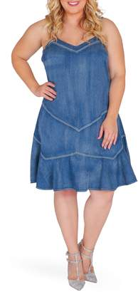 Standards & Practices Rosie Denim Tank Dress