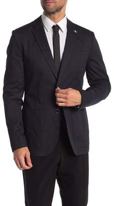 Ted Baker Navy Clifott Re-Luxed Tall Fit Blazer (Big & Tall Available)