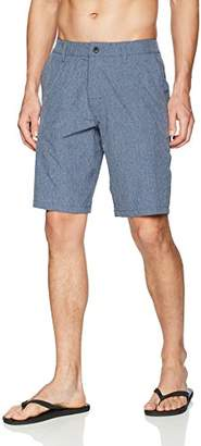 Rusty Men's Marled Hybrid Short